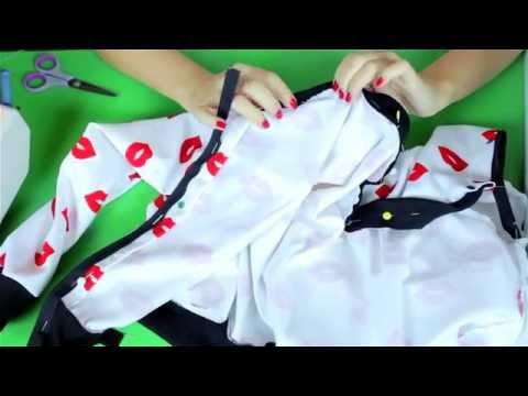 DIY:  jak uszyć kurtkę typu bomber jacket