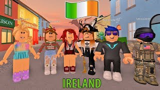 WE TRAVELED TO IRELAND AND INDIA! Roblox World Expedition! Roblox Roleplay | Roblox Funny Moments