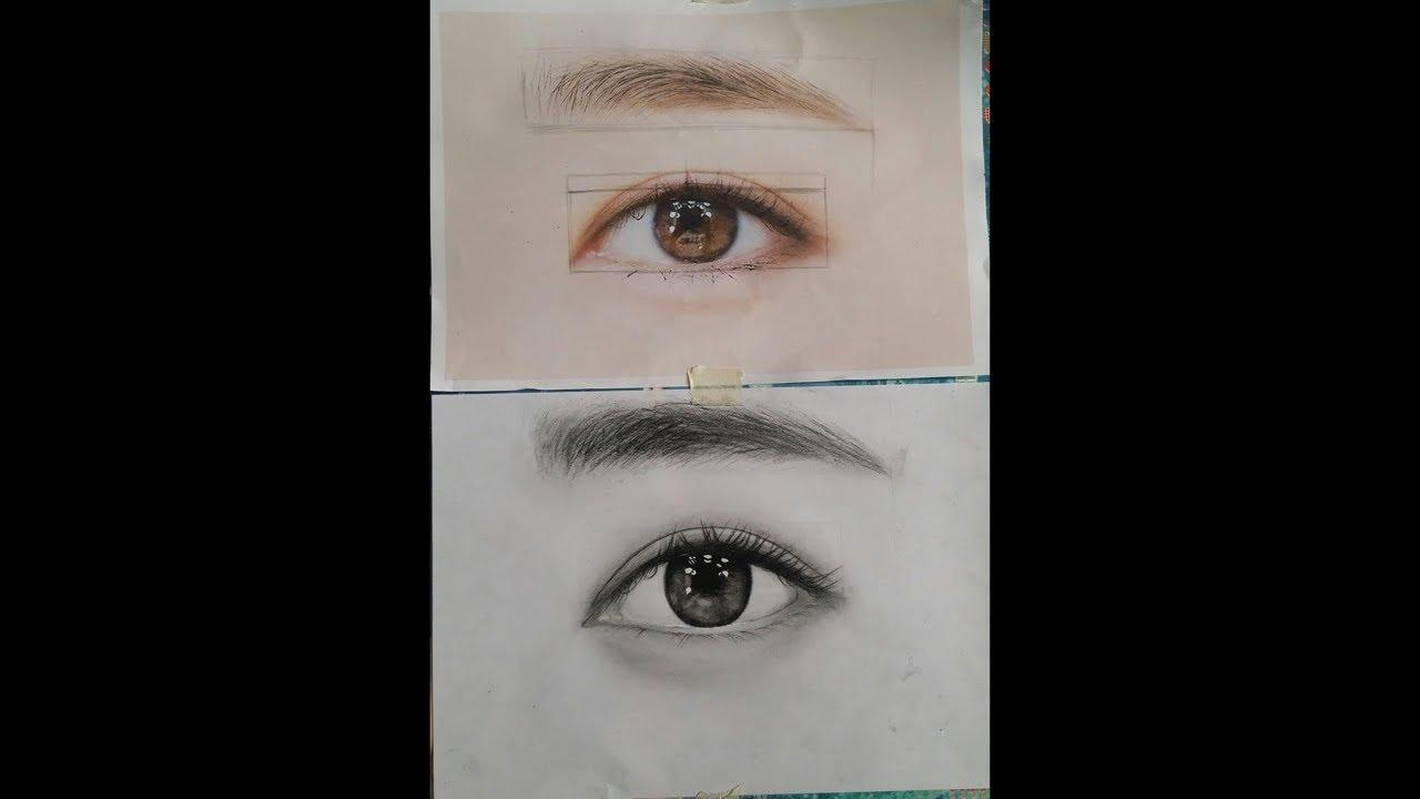 Drawing AZ, Học vẽ chân dung online, bài 124