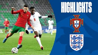 Portugal U21 2-0 England U21 | Young Lions Defeated by Portugal | UEFA U21 Championship