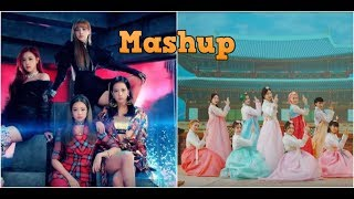 Baam vs Ddu Du Ddu Du Song Mix Mashup Momoland vs Blackpink