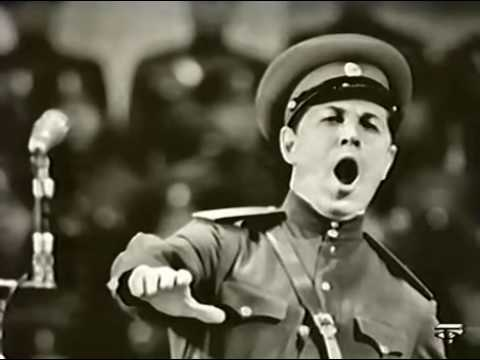 "Leonid Kharitonov & the Red Army Choir - ""The Cliff"" (????)"