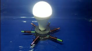 how to make free energy generator homemade with magnet and pencil thumbnail