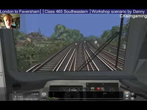 2A32 1054 Gillingham (Kent) to London Charing Cross - Workshop Scenario (Twitch)