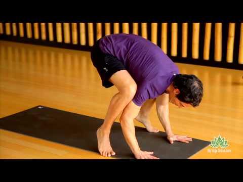 crow pose yoga pose stepstep  youtube