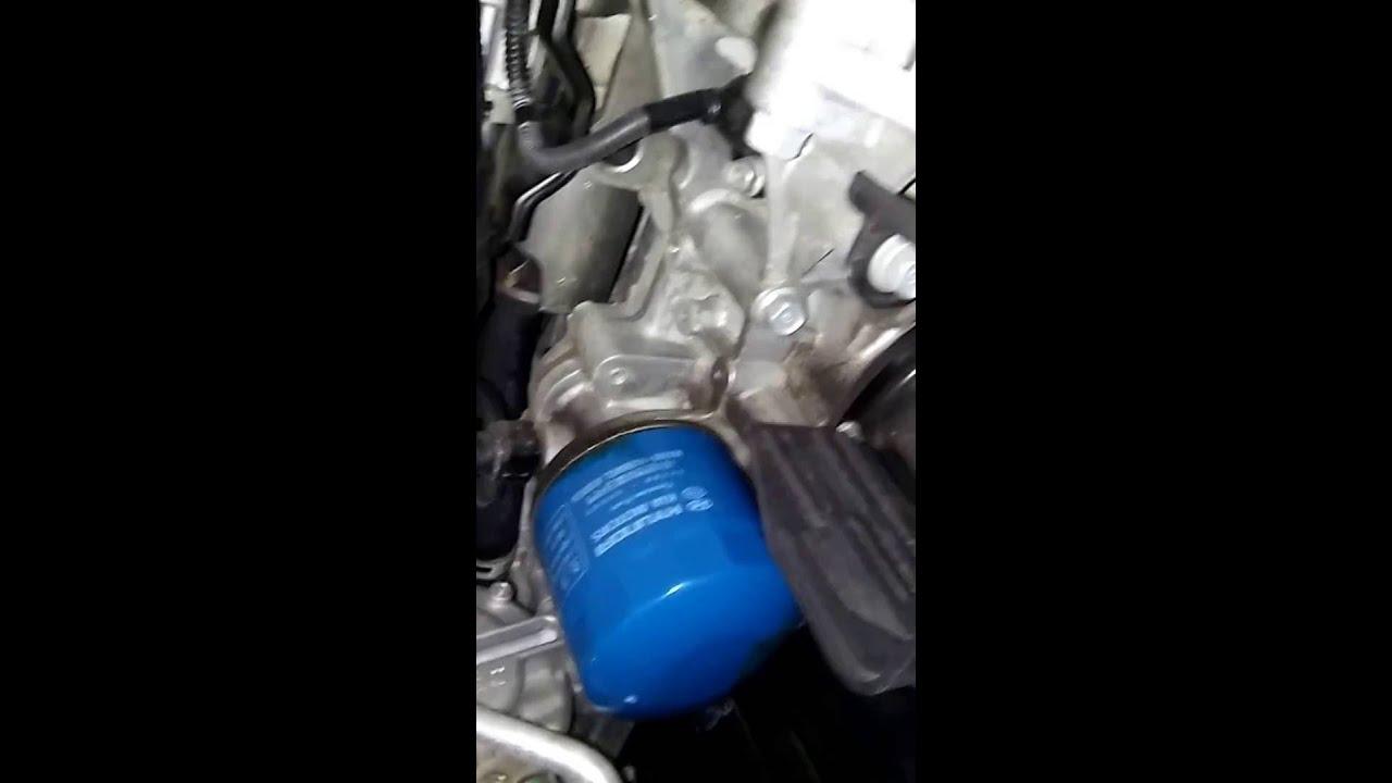 2015 Hyundai Elantra 1.8 Oil Change
