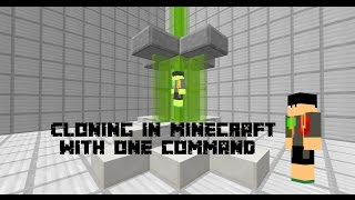 Cloning with one command. Custom Players! Clone yourself! [1.10]