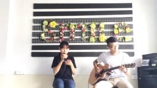 Chúng Ta Không Thuộc Về Nhau Acoustic Cover - Khoa Anh ft Thùy Trang