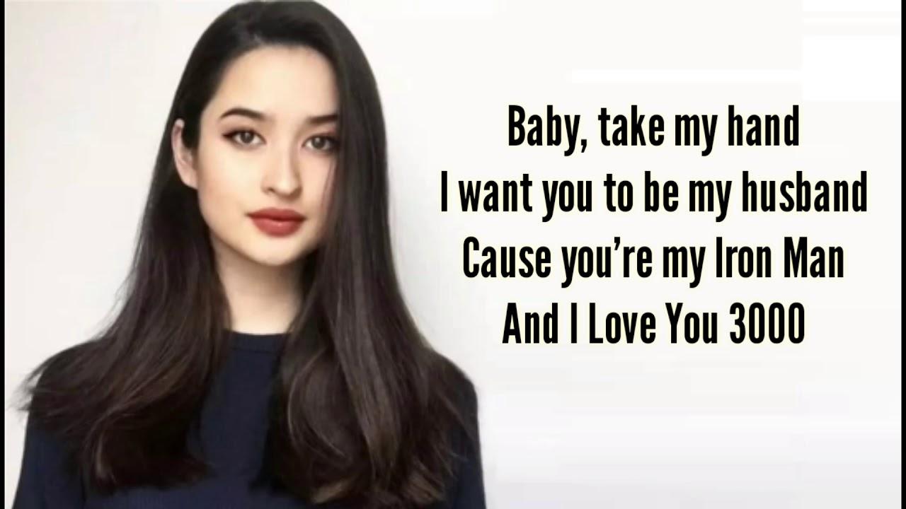 I Love You 3000 Lyrics Stephanie Poetri