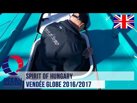 Spirit of Hungary - Preparations continue before the Vendée Globe race