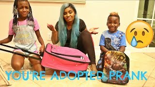 Video YOU'RE ADOPTED PRANK ON OUR KIDS YAYA AND DJ!! (THEY CRIED) download MP3, 3GP, MP4, WEBM, AVI, FLV Agustus 2018