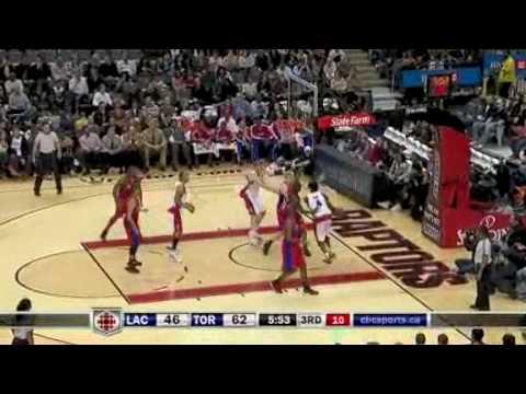 Toronto Raptors vs L.A.Clippers Mar.22/09