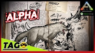 (ALPHA DIRE WOLF) Overpowered or Nah? - Ark Survival Evolved PATCH 258 (XBOX ONE, PS4)