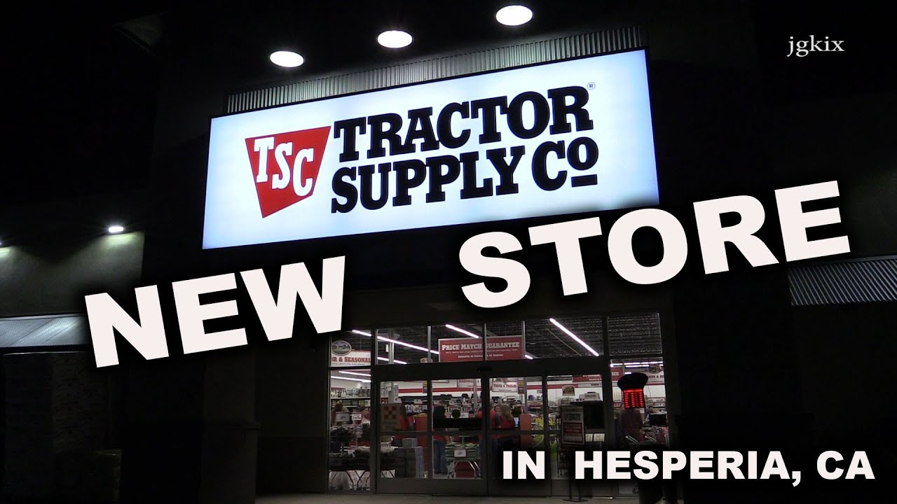 Tractor Supply Find It : New tractor supply co store youtube