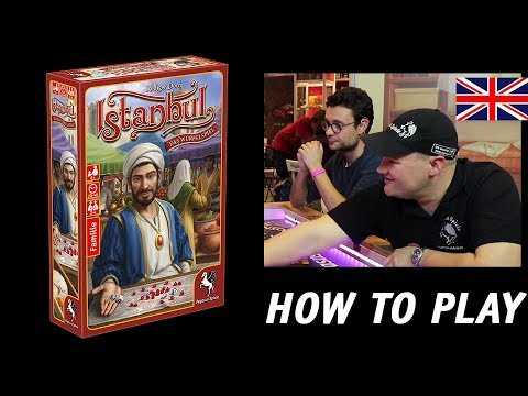 [EN] Istanbul-The Dice Game | How to Play | Pegasus Game Night presented by Pegasus Spiele M.I.C