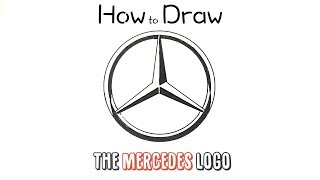 How to Draw the Mercedes Logo