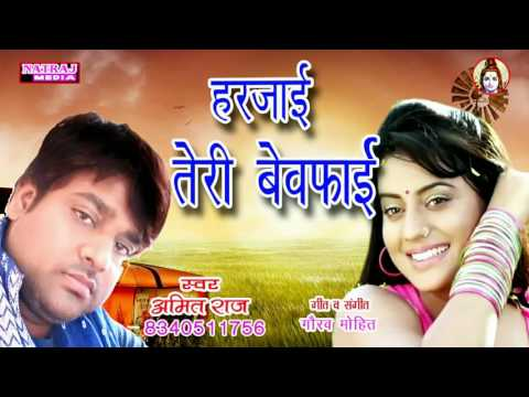 Harjai Teri Bewafai || Amit Raj || हरजाई तेरी बेवफाई || Latest Bhojpuri Sad Song 2017