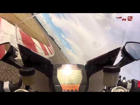 KTM RC8R onboard video at Racetrack Alcarraz