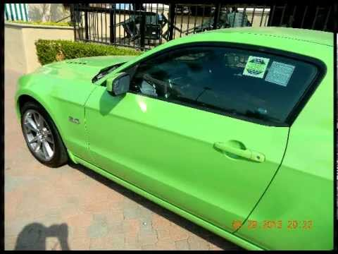 2014 Ford Mustang 5 0 Gt Gotta Have It Green San Diego