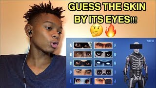 Guess The Fortnite Skin By There Eyes Challenge!!!