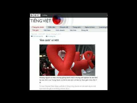 06-04-2011 - BBC Vietnamese - 'Ám ảnh' vì HIV