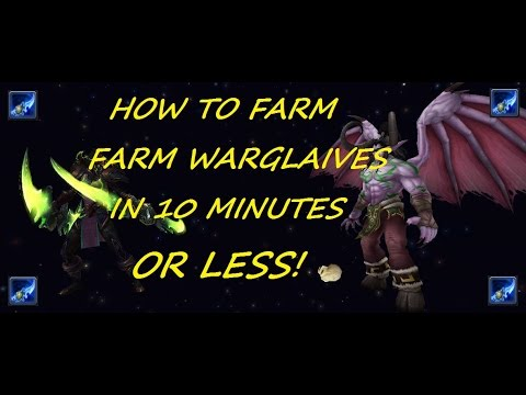 Skipping Straight To Illidan For Your Weekly Warglaive Farm Wow