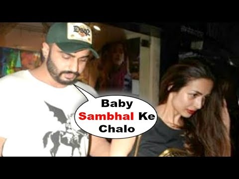 Arjun Kapoor And Malaika Arora Khan SPOTTED Late Night After Romantic Dinner Date Mp3