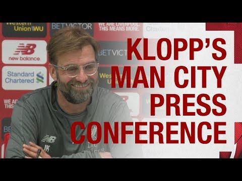Jürgen Klopp's pre-match press conference | Man City