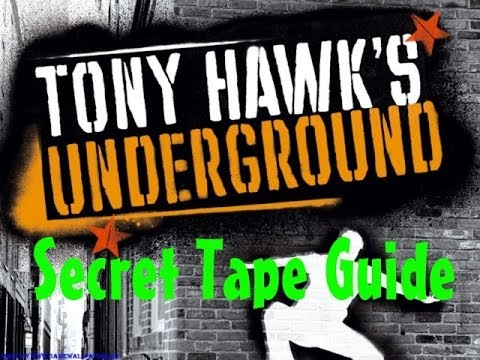 All Tony Hawk's Underground Secret Tapes