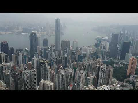 Hong Kong Travel Vlog #2 - Victoria Peak, Victoria Harbour & Causeway Bay