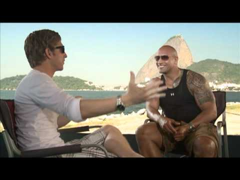"FAST FIVE Interviews with Vin Diesel, Paul Walker and Dwayne ""The Rock"" Johnson"