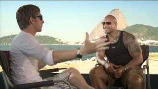 "FAST FIVE Interviews with Vin Diesel, Paul Walker and Dwayne ""The Rock"" Johnson"
