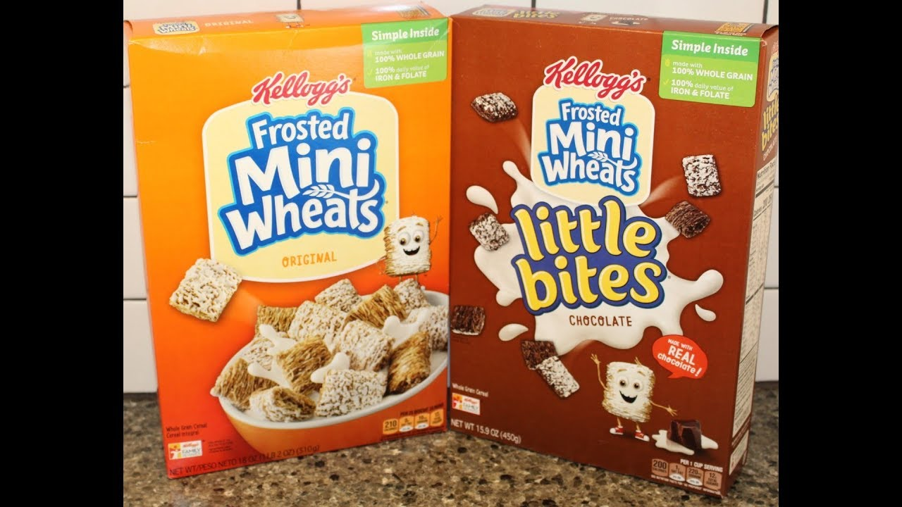Kellogg's Frosted Mini Wheats Cereal