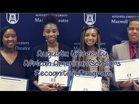 Augusta University African American Scholars Recognition Program