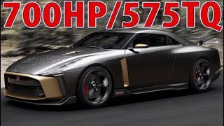 Nissan GT-R50 Concept by Italdesign - GTR without limits