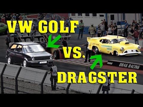 Boba´s 1233PS Golf mischt die Dragster Klasse auf und fährt einen neuen Weltrekord!