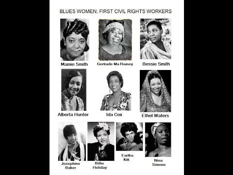 Blues Women: The First Civil Rights Workers