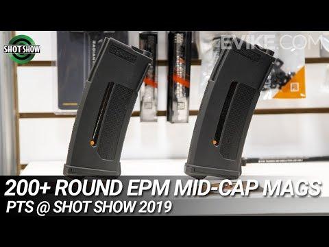 200+ Round EPM Mid-Cap Mags, GBLS DAS & MORE - PTS @ Shot Show 2019
