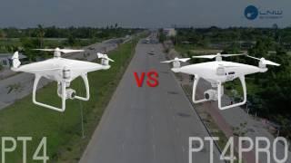 ท้าชน Phantom4 VS Phantom 4 PRO เปรีบเทียบภาพ ฟีเจอร์ มีอะไรใหม่