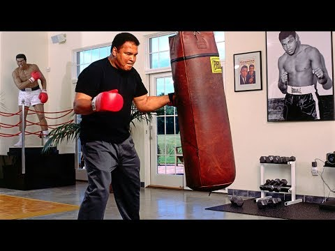 One of the Last Workouts - Legend of Boxing Muhammad Ali!!!