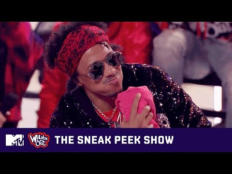 Justina Valentine's Modeling Dreams Make Nick Spit 💦 on Wild 'N Out   The Sneak Peek Show   MTV