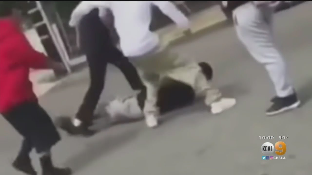 LOS ANGELES, CA: MEXICANS BRUTALLY BEAT A SPECIAL ED
