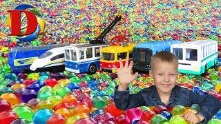 Видео для мальчиков - Машинки игрушки и шарики ОРБИЗ - Мультики про машинки