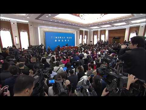 LIVE: Press Conference for First Session of 13th National People's Congress in China