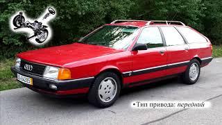 ТХ Audi 100 Avant 1.8 (44, 44Q, C3) универсал, 88 л.с, 5мкпп, 1983–1988 г.в. Ауди 100