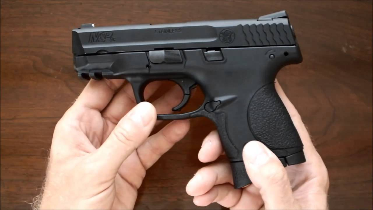 cybergun s w m p 9c review youtube
