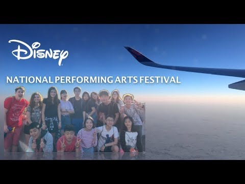Disney's National Performing Arts Festival VLOG (part 1)