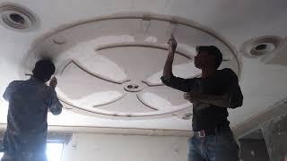 Plus Minus Pop Design In Circle For Ceiling(part 1)