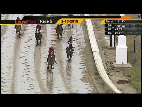LAUREL PARK 2-16-2018 RACE 5