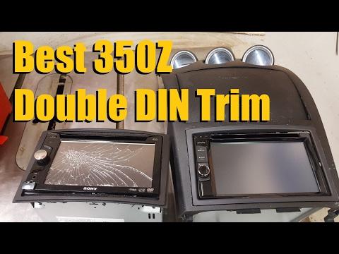 Best 350Z Double DIN Trim (2003 To 2005) | AnthonyJ350